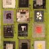 28/ Random Squares in a Grid 4 (Green)