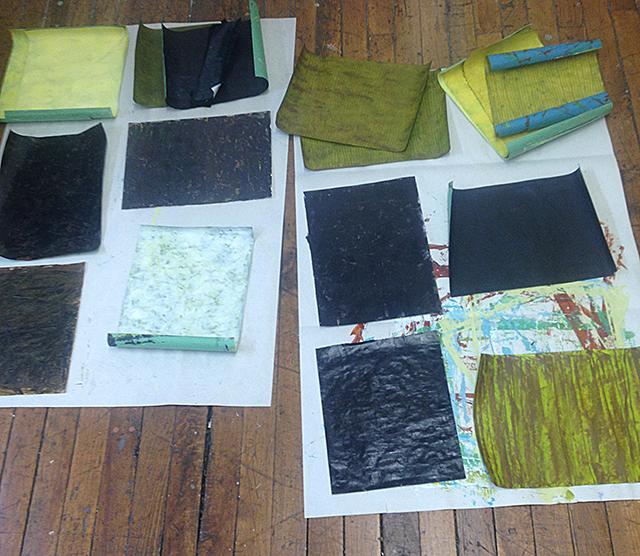 640_papers on studio floor
